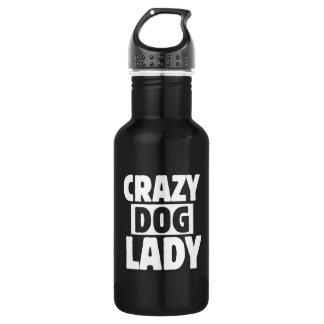 Bouteille D'eau Madame folle de chien