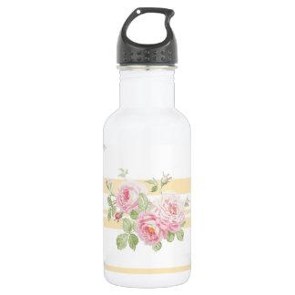 Bouteille D'eau Renoncule de roses d'été de jour de mai