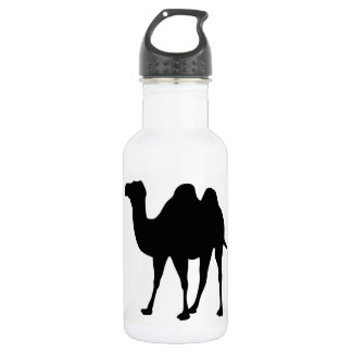 Bouteille D'eau Silhouette de chameau