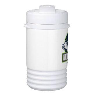 Bouteille Isotherme Glacière de boisson d'igloo de WolfPack, un quart