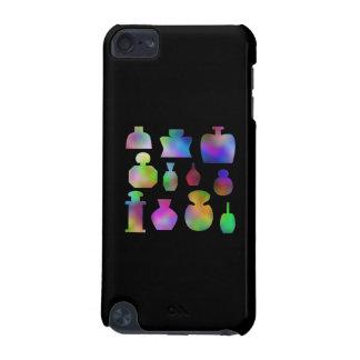 Bouteilles de parfum multicolores coque iPod touch 5G
