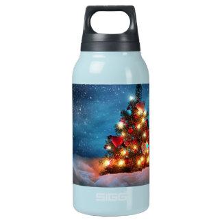 Bouteilles Isotherme Arbre de Noël - décorations de Noël - flocons de