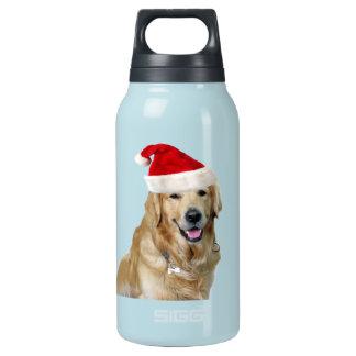 Bouteilles Isotherme Chien-animal familier de Labrador Noël-père Noël
