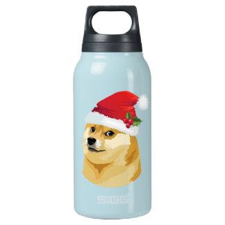 Bouteilles Isotherme Doge de Noël - doge de père Noël - chien de Noël