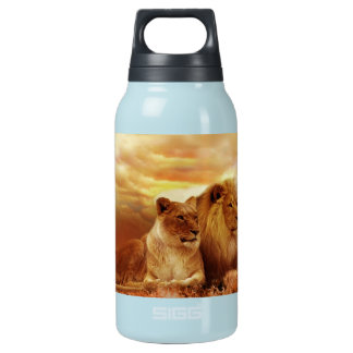 Bouteilles Isotherme Lions africains - safari - faune
