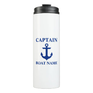 Bouteilles Isothermes Capitaine nautique Name Anchor