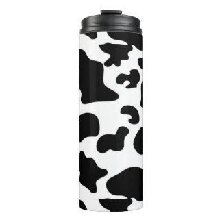 Bouteilles Isothermes Culbuteur de courant ascendant de motif de vache