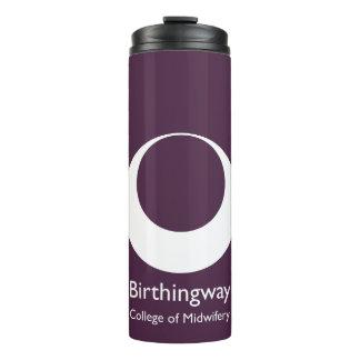 Bouteilles Isothermes Culbuteur de voyage de logo de Birthingway