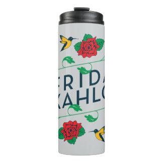 Bouteilles Isothermes Typographie florale de Frida Kahlo |