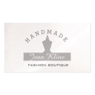 Boutique de mode de mannequin de forme de robe carte de visite standard