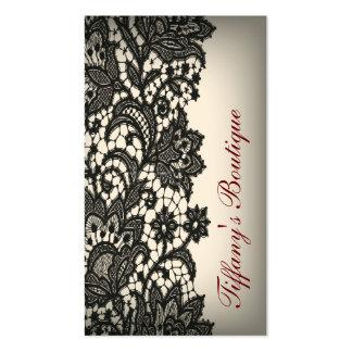 boutique noire vintage élégante de mode de Paris d Modèles De Cartes De Visite