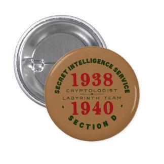 Bouton 1938-1940 de Cryptologist Pin's