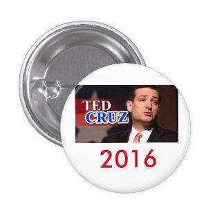 Bouton 2016 de Ted Cruz Pinback Badges