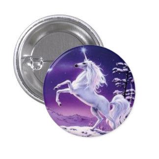Bouton 3 de licorne badge