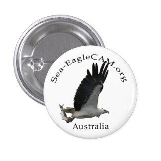 Bouton adulte de Mer-Eagle de pêche Badges