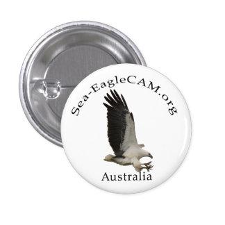 Bouton adulte de Mer-Eagle de vol Badges
