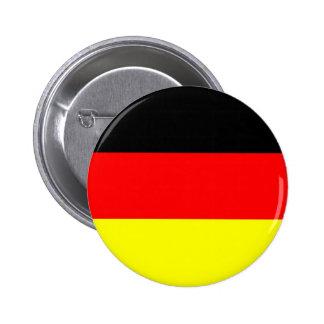 Bouton allemand de drapeau badges avec agrafe
