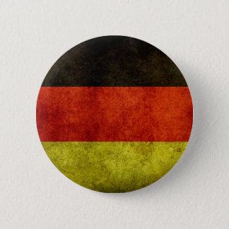 Bouton allemand grunge de drapeau pin's