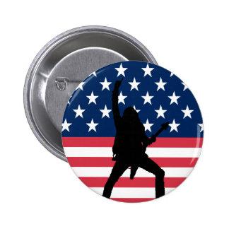 Bouton américain en métal pin's