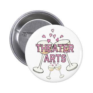 Bouton : Arts de théâtre Pin's