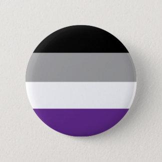 Bouton asexuel de drapeau badge