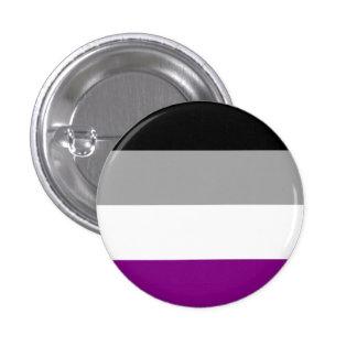 Bouton asexuel de drapeau badge rond 2,50 cm