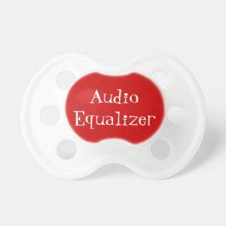 Bouton audio d'égaliseur tétines pour bébé