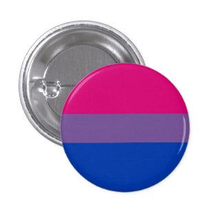 Bouton bisexuel de drapeau de fierté badge
