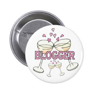 Bouton : Blogger Badge Rond 5 Cm