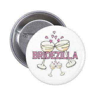 Bouton : Bridezilla Badge Rond 5 Cm