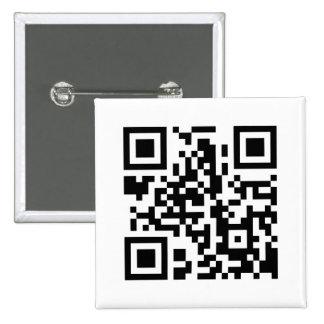 Bouton carré de code de QR Badges