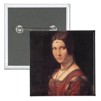 bouton carré de da Vinci Pin's