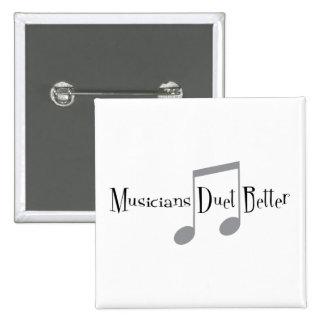 Bouton carré de duo (notes) badge