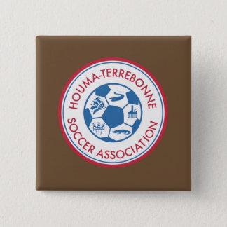 Bouton carré de HTSA Badges
