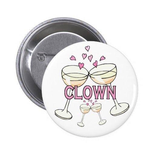 Bouton : Clown Pin's Avec Agrafe