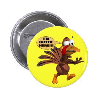 Bouton - courant pour la couverture Turquie Badge