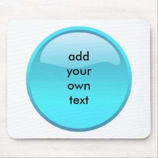 bouton d aqua tapis de souris