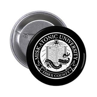 Bouton d université de Miskatonic Badges Avec Agrafe
