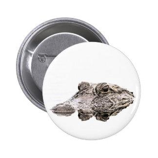 Bouton d'alligator badge