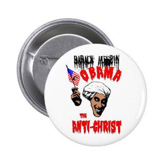 Bouton d'antichriste d'Obama Badges