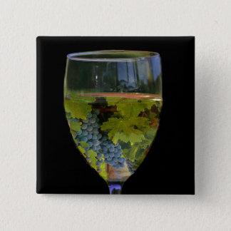 Bouton d'art de vin badge