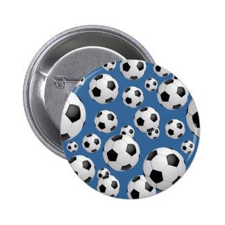 Bouton de ballons de football du football badge