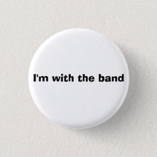 Bouton de bande - je suis avec la bande badges