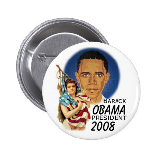 Bouton de Barack Obama Pin's