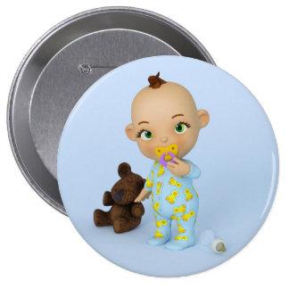 Bouton de bébé de Toon Badge