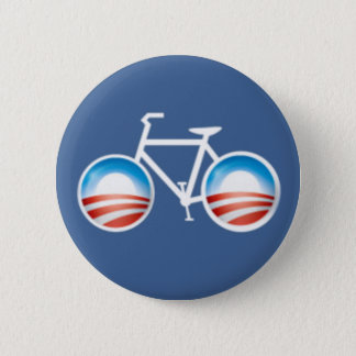 Bouton de bicyclette d'Obama Pin's