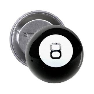Bouton de boule de la magie 8 badges