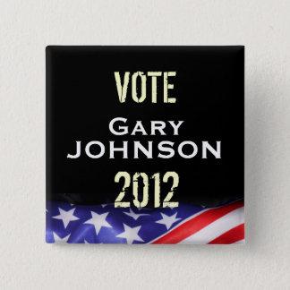 Bouton de campagne de Gary JOHNSON 2012 de vote Badges