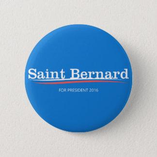"""Bouton de campagne de """"St Bernard"""" de ponceuses de Badge"""