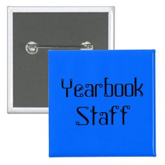 Bouton de carré de personnel d'annuaire badge